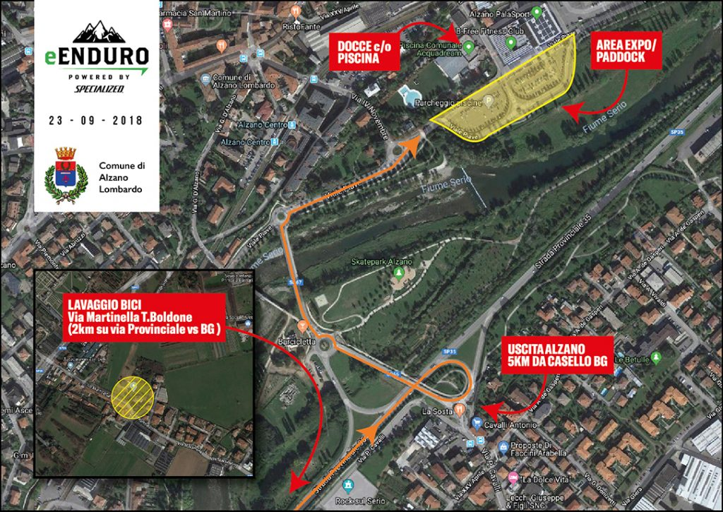 Tracce gpx bergamo quarta prova del circuito e enduro powered by specialized e enduro it - Alzano lombardo piscina ...